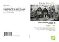 Bookcover of Beth Sarim