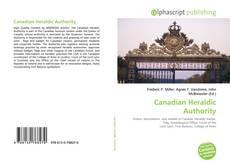 Обложка Canadian Heraldic Authority