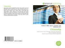 Bookcover of Citizenship