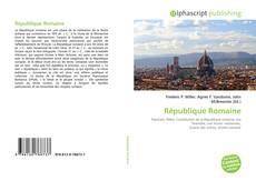 Couverture de République Romaine