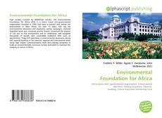 Bookcover of Environmental Foundation for Africa