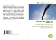 Révolution Française kitap kapağı