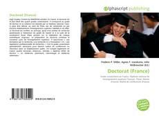 Обложка Doctorat (France)