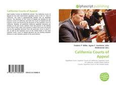 Bookcover of California Courts of Appeal