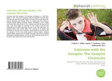 Interview with the Vampire: The Vampire Chronicles的封面