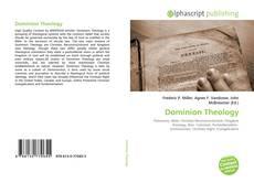 Buchcover von Dominion Theology