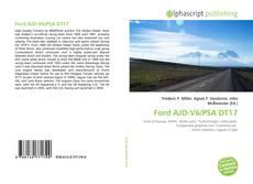 Ford AJD-V6/PSA DT17 kitap kapağı