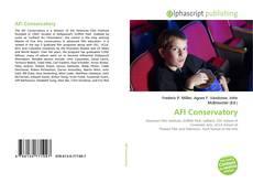 Capa do livro de AFI Conservatory