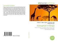 Bookcover of Corruption in Kenya