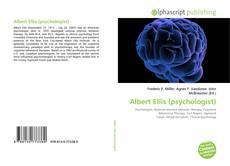 Couverture de Albert Ellis (psychologist)