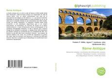 Bookcover of Rome Antique