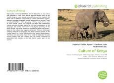Bookcover of Culture of Kenya
