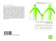 Bookcover of Equality of Outcome