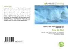 Bookcover of Eau de Mer