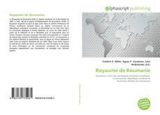 Capa do livro de Royaume de Roumanie