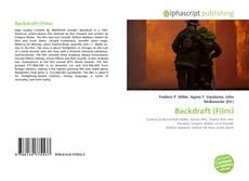 Bookcover of Backdraft (Film)
