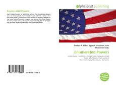 Bookcover of Enumerated Powers