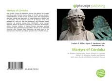 Martyrs of Córdoba kitap kapağı