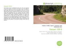 Обложка Ferrari 159 S