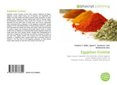 Bookcover of Egyptian Cuisine