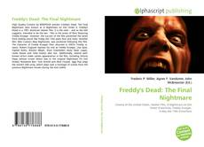 Bookcover of Freddy's Dead: The Final Nightmare