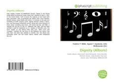 Capa do livro de Dignity (Album)