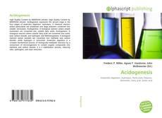 Acidogenesis的封面