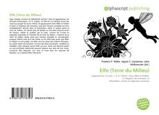 Bookcover of Elfe (Terre du Milieu)