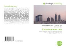 Bookcover of Émirats Arabes Unis