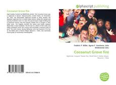 Bookcover of Cocoanut Grove fire