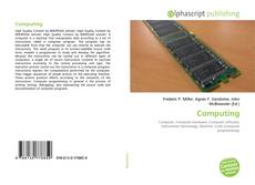 Bookcover of Computing