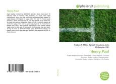 Henry Paul的封面