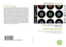 Bookcover of All for You (Album)