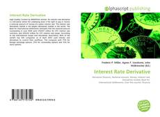 Bookcover of Interest Rate Derivative