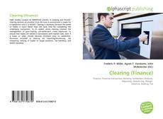 Capa do livro de Clearing (Finance)