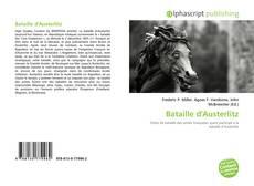 Capa do livro de Bataille d'Austerlitz