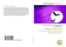 Обложка Batman: Year One