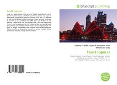 Bookcover of Faust (opera)