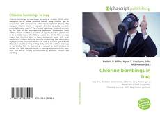 Portada del libro de Chlorine bombings in Iraq