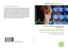 Bookcover of Compulsory sterilization