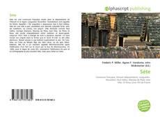 Buchcover von Sète