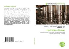 Copertina di Hydrogen storage