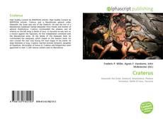 Capa do livro de Craterus