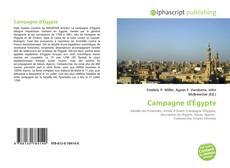 Обложка Campagne d'Égypte