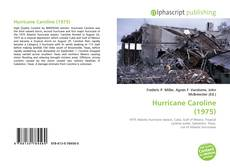 Bookcover of Hurricane Caroline (1975)