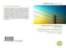 Capa do livro de Characteristic Impedance