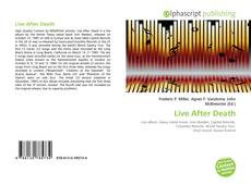 Copertina di Live After Death