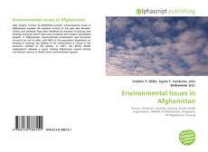 Bookcover of Environmental Issues in Afghanistan