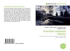 Capa do livro de Faversham explosives industry