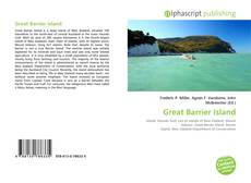 Bookcover of Great Barrier Island